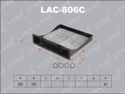 Фильтр Салона LYNXauto арт. LAC806C LAC806C