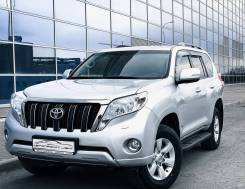 Toyota Land Cruiser Prado. Без водителя