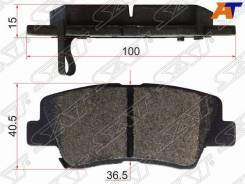 Колодки тормозные Hyundai, KIA ST-58302-1RA30, задний ST583021RA30