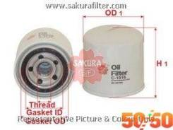 Фильтр масляный C-1016 Sakura Япония