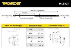 Газовый упор багажника TO Yaris CP10 99-05; Monroe ML5821 [ML5821]