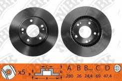 Диск тормозной 1174RN NiBK [RN1174]