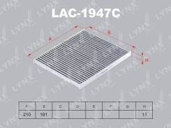 Фильтр салонный угольный LYNXauto LAC1947C LAC1947C