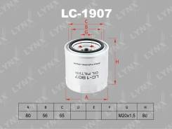 Фильтр масляный LYNXauto LC1907