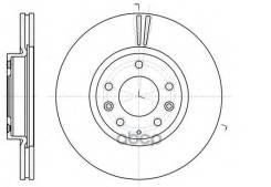Диск Тормозной Mazda 6 07- Перед. Вент. Remsa арт. 6123510