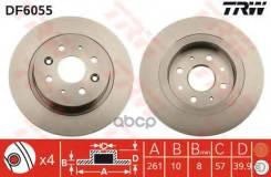 Диск Тормозной Задний Trw Df6055 TRW арт. DF6055 DF6055