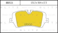 Колодки Торм. Задн. Blitz арт. BB0521 BB0521