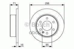 Диск Тормозной Mb/Vw Sprinter/Crafter 06- Задн. Bosch арт. 0986479S05