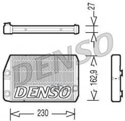 Радиатор Отопителя Салона Fiat Ducato/Peugeot Boxer/Citroen Jumper 06-( Без Трубок, Хомуты В Комплек Denso арт. DRR09034