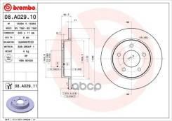 Диск Тормозной Mazda 3 04- Задн. (Мин. 2 Шт. ) Brembo арт. 08A02911