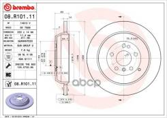Диск Тормозной Задний Mercedes W164/W251/V251 Brembo арт. 08R10111 08R10111