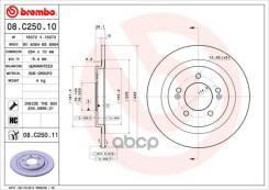 Диск Тормозной Hyundai I30/Kia Ceed 12- Задний D=284мм Brembo арт. 08. C250.11