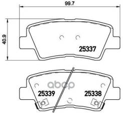 Колодки Тормозные Дисковые Hyundai: Accent 10-, Elantra 10-, Grandeur 05-, Sonata V 05-10, I30 11-, I40 12-, Kia: Carens Iv 13-, Ceed 12-, Optima 10-...