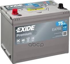 """Аккумуляторная Батарея Premium [12v 75ah 630a Koreanb1] 270x173x222mm Полярность Etn 0 [-/+] Тип Клеммы 1(En) [""""+"""" D 19.5 """"-"""" D17.9] 270x173x222mm Пол..."""