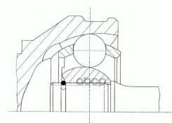 Шрус Citro? N Jumper C Бортовой Платформой/Ходовая Часть 3.0 Hdi 160 [2006/09-. ] GKN (Loebro) арт. 304609