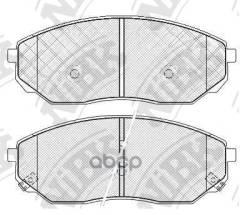 Колодки Торм. Пер. Kia Sorento 2.4/2.5 Crdi/3.5 V6 08/02- NiBK арт. PN0441