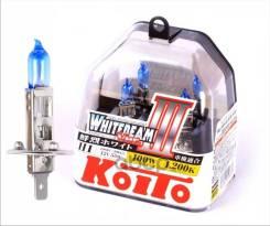 Лампа Высокотемпературная Koito Whitebeam H1 12v 55w (100w) 4200k (Комплект 2 Шт. ) H1 12v 55w (100w) 4200k, Упаковка 2 Шт. Koito арт. P0751W