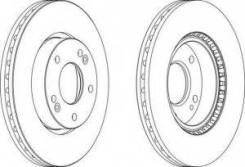 Тормозной диск Ferodo DDF1619-1 Beijing Hyundai: 517122C000 517120Q100 517123K010. Hyundai / Kia (Mobis): 517121H100 517122C700 517122E300 517123K050