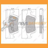 Колодки тормозные дисковые задние LYNX / BD5901