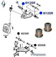 Сайлентблок Верхнего Рычага Передней Подвески. Фортуна I012SR I012SR