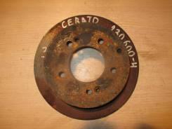 Диск тормозной задний [584112K300] для Kia Cerato II, Kia Soul I [арт. 230600-4] 584112K300