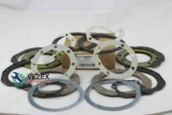 Ремкомплект сальников поворотного кулака Febest TOS001