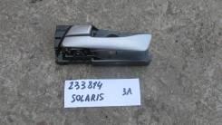 Ручка двери внутренняя задняя левая [836101R000RDR] для Hyundai Solaris I [арт. 233814]