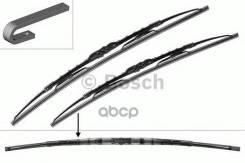 Щетки Стеклоочистителя Bosch Twin 801 600мм/530мм Крючок Пассажирская Щетка Изогнута Bosch арт. 3397001801