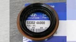 Сальник хвостовика редуктора заднего 53352-4A000/53352-44000 Mobis