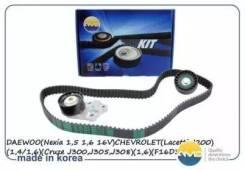 Ремкомплект ГРМ! Chevrolet Aveo/Lacetti 1.4-1.6 16V 03 AMD. Kitbr7_