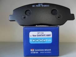 Колодки Дисковые П Hyundai Santa Fe (Cm) 2.7v6/2.0crdi 05 Sangsin brake арт. SP1194 Sp1194sns_=Gdb3418 [581014du00] ! SP1194
