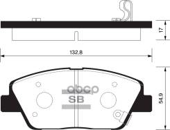 Колодки Дисковые ! Передние Hyundai Sonata V, Kia Optima 2.0/2.4/2.0crdi 10 Sangsin brake арт. SP1397 Sp1397_ SP1397