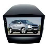 Переходная рамка для Hyundai IX35 2009-2015 гг. LeTrun 3013 под базовую магнитолу 9 дюймов