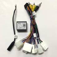 Комплект проводов для Toyota 2012-2017 canbus без поддержки кругового обзора и усилителя FT-RZ-02 Letrun 3615