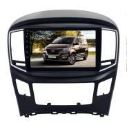 Переходная рамка для Hyundai H1, Grand starex, с 2016 LeTrun 3819 (Черный) под базовую магнитолу 9 дюймов ++