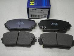 Колодки Дисковые П Kia Picanto 1.0/1.2 11 Sangsin brake арт. SP1405 Sp1405sns_[581011ya30] ! SP1405
