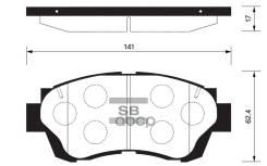 Тормозные Колодки Дисковые Sp1138 Sangsin brake арт. SP1138