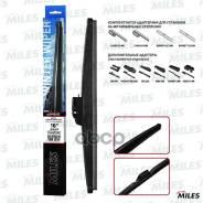 Щетка С/О Зимняя Miles 16/400мм + Адаптеры Hook 9x3/9x4 Cww16ac Miles арт. CWW16AC Miles CWW16AC CWW16AC