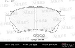 Колодки Тормозные (Смесь Ceramic) Toyota Camry 91-96/Celica 2.0 93-99 Передние (Trw Gdb3155) E500353 Miles арт. E500353