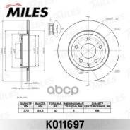 Диск Тормозной Mazda 6 12- Задний Miles арт. k011697