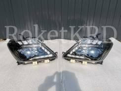 Фары Nissan Patrol Y62 LED (Темные)