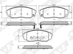 Колодки Тормозные Перед Kia Sorento 02-09 Sat арт. ST-58101-3EE00