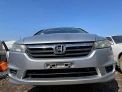 Бампер в сборе серый (NH700M) передний Honda Stream RN6 84000km