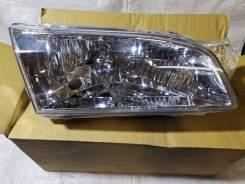 Правая фара 12-448 хрусталь DEPO Toyota Corolla 110