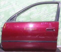 Дверь боковая Toyota Carina 19# передняя левая