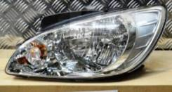 Фара левая Hyundai Getz (новая) рестайлинг с 2006-