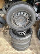 Комплект отличных японских колёс на дисках с летней резиной 185/65R15!