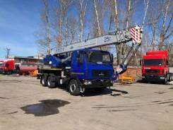 МАЗ Машека КС-55727. Автокран КС-55727-Н-12 25 тон 28 метров МАЗ 6х6 (Проходит ПО Весам), 6 700куб. см., 27,10м.