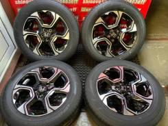 Оригинальные диски Honda и летние шины 235/60R18 Dunlop SP Sport Maxx