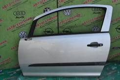 Дверь передняя левая Opel Corsa D (06-14г) голое железо (3-х дв х/б)
